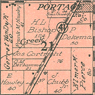 Portage Township map